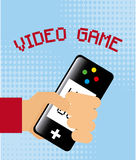 Video gamers Stock Images