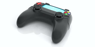 Video games console controller. 3d illustration Royalty Free Stock Images