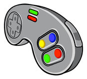 Video Games Controller. A video games console controller pad icon Stock Images