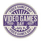 Video Games Day,  July 8 Stock Image