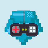 Video games design Royalty Free Stock Photo