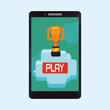 Video games design Royalty Free Stock Photography