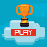 Video games design Royalty Free Stock Images