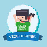 Video games design Stock Photography