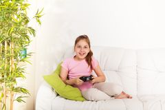 Video games for girls Stock Photos