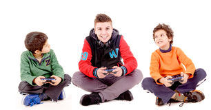 Video games Royalty Free Stock Photo