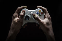 Video Gaming Addiction Royalty Free Stock Photo