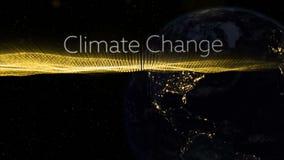 Video generato Digital del concetto di clima royalty illustrazione gratis