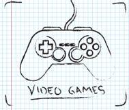 Video giochi Immagini Stock Libere da Diritti