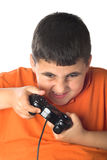 Video gioco emozionante Fotografie Stock