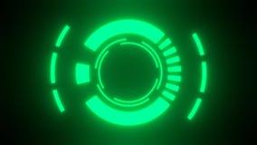 Video green counter vector illustration