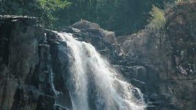 Video of Haew Narok Waterfall stock video footage