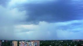 Video i den Poltava staden i Ukraina lager videofilmer