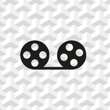 Video icon stock vector illustration flat design Stock Image