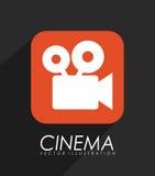 Video icona dell'applicazione illustrazione vettoriale