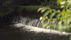 Video of idyllic waterfall stock video