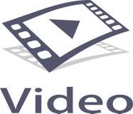 Video immagini di logo e di musica Fotografia Stock