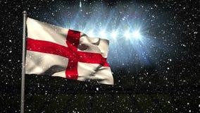 Video inglese della bandiera archivi video