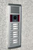 Video intercom in the entry of a house Stock Photos