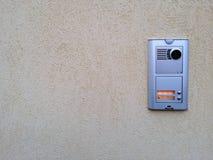Video intercom outdoor Stock Images