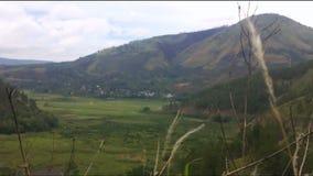 Video of Lake Toba, North Sumatra, Indonesia. stock video