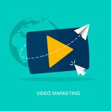 Video Marketing vector illustratie