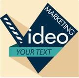 Video Marketing Royalty-vrije Stock Afbeeldingen