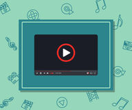 Video marketing. Approaches, methods and measures to promote products and services based on video. Video marketing. Approaches, methods and measures to promote Royalty Free Stock Photography