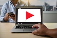 VIDEO MARKETING Audio Video , market Interactive channels , Business Media Technology innovation Marketing technology concept. S stock photo
