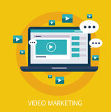 Video Marketing Concept Art Royalty Free Stock Photo
