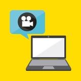 Video marketing design Stock Images