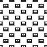 video marketing pictogram in Patroonstijl royalty-vrije illustratie