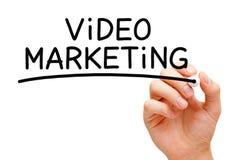 Video marknadsföring arkivfoto