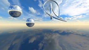 Video metraggio di animazione di infinito 3D stock footage
