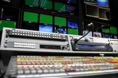 Video mischender Schreibtisch lizenzfreie stockfotografie