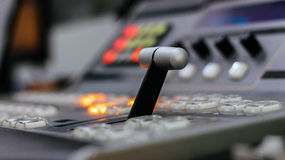 Video mixer control Royalty Free Stock Images