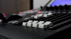 Video mixer control Royalty Free Stock Photos