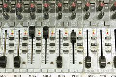 Video mixer detail Stock Image