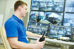 Video monitoring surveillance security system Royalty Free Stock Photography