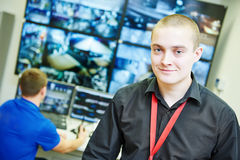 Video monitoring surveillance security system Stock Photography