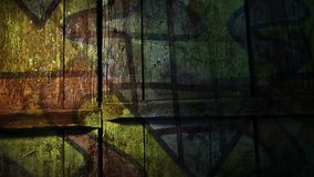 Video motion graffiti contemporary  art avant stock video footage