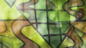 Video motion graffiti    contemporary   art avant stock video