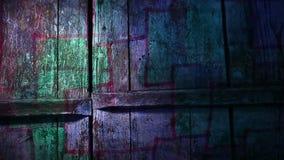 Video  motion graffiti square mesh avant-garde art stock footage