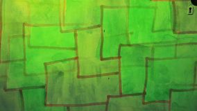 Video  motion  graffiti square mesh avant-garde stock video