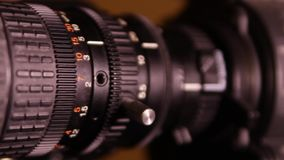 Video of motion zoom camera stock footage
