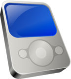 Video MP3 Player Royalty Free Stock Photos