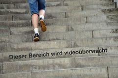 Video observation Stock Images