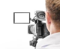 Video operatör Arkivfoto