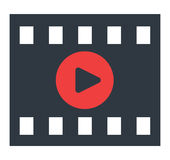 Video Play Icon. Design. EPS 8 supported Stock Images