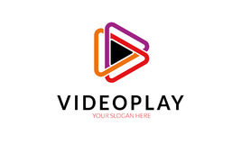 Video Play Logo Royalty Free Stock Photos
